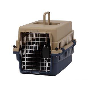KANING Бокс для перевозки животных 50x34x32 см, тёмно-синий