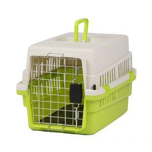 KANING Бокс для перевозки животных 50x34x32 см, зелёный