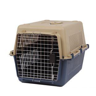 KANING Бокс для перевозки животных 67x51x47 см, тёмно-синий