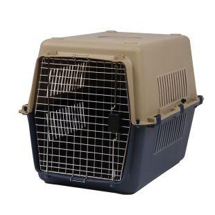 KANING Бокс для перевозки животных 61x40x39 см, тёмно-синий