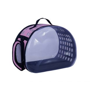 PAW COUTURE Cумка для переноски домашних животных 29x45x32 см, розовая