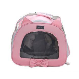 PAW COUTURE Cумка для переноски домашних животных 36x20x30 см, розовая