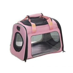 PAW COUTURE Cумка для переноски домашних животных 42x26x30 см, розовая