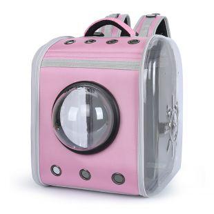PAW COUTURE Cумка для переноски домашних животных 34x30x41 см, розовая