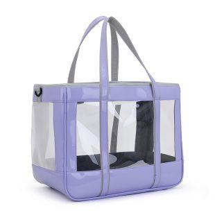 PAW COUTURE Cумка для переноски домашних животных 39x21x31 см, фиолетовая