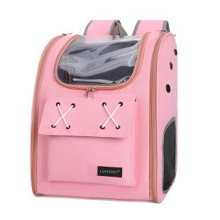 PAW COUTURE Cумка для переноски домашних животных 32x26x40 см, розовая