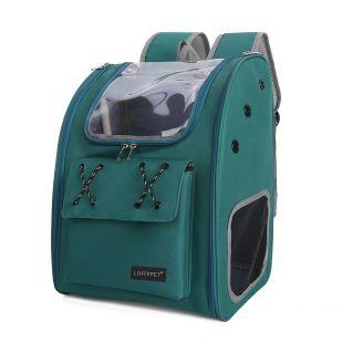 PAW COUTURE Cумка для переноски домашних животных 32x26x40 см, тёмно-зелёная