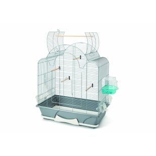 SAVIC клетка для птиц 64x38x73,5см с оборудованием
