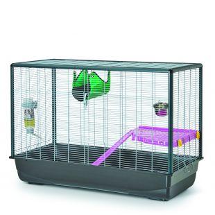 SAVIC клетка для грызунов 80x50x45см, с оборудованием