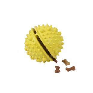 MISOKO&CO Kummist mänguasi koertele, kollane, 8 cm