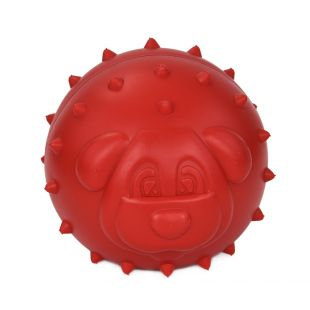 MISOKO&CO Mänguasi koertele, punane, 7.5?7 cm