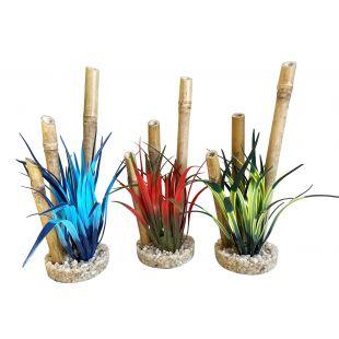 SYDEKO Dekoratsioon akvaariumi jaoks Bamboo Forest Plants 20 cm