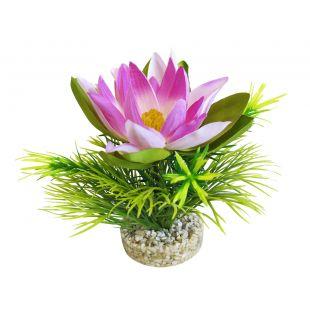 SYDEKO Taim akvaariumi jaoks Lotus Flower 18 cm