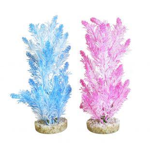 SYDEKO Taim akvaariumi jaoks Ice Color Plant, 28 cm