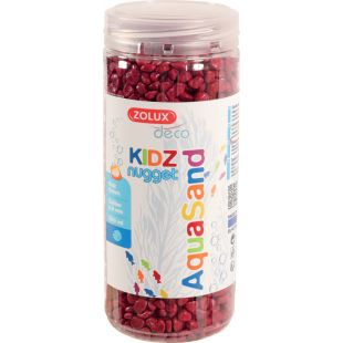 ZOLUX Kruus akvaariumi jaoks Aquasand punane, 500 ml