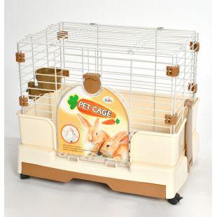 AOTONG Клетка для кроликов 61,5x41x47 см