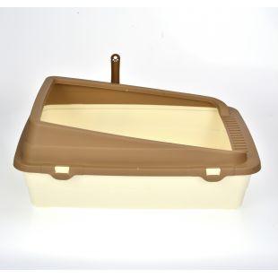 AOTONG Ülaosas avati kasside liivakast 48x38x18,5 cm
