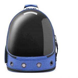 PAW COUTURE Cумка для переноски домашних животных 37x28x41 см, синяя