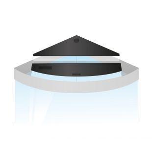 JUWEL Набор запасных створок для треугольных аквариумов Trigon 190 x 1