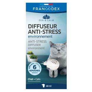FRANCODEX Диффузор для кошек Антистресс, подключается в розетку 48мл