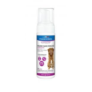 FRANCODEX Антипаразитарная пена для собак несмываемая, 150мл