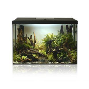 AQUAEL Аквариумный набор LEDDY XL Day & Night черный, 25 л, 41x25x35 см