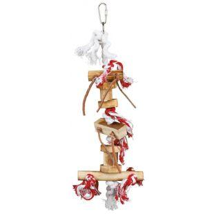 TRIXIE Подвесная игрушка для птицы обожженные дрова, 35 см