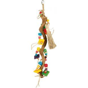 TRIXIE Linnule riputatav mänguasi looduslik puit, 56 cm
