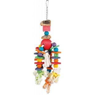 TRIXIE Подвесная игрушка для птиц разноцветная, 35 см