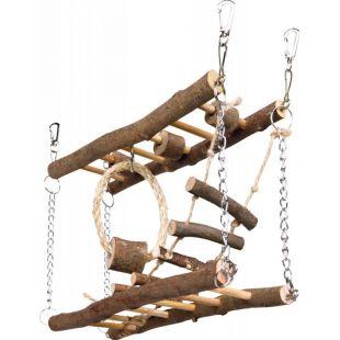 TRIXIE Игрушка для грызунов, мостик 27x17x7 см