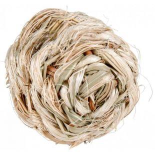 TRIXIE Игрушка для грызунов травяной шар, 6 см