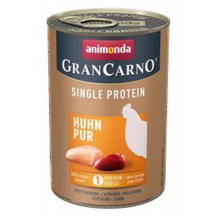 ANIMONDA GranCarno Single Protein консервы с курицей для собак 400 г