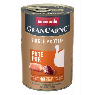 ANIMONDA GranCarno Single Protein konservid kalkuniga koertele 400 g