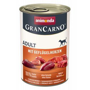 ANIMONDA Grancarno adult linnusüdamega konservtoit koertele 400 g