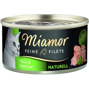 FINNERN MIAMOR Miamor Feine täiendav sööt koertele ja kassidele tuunikala ja köögiviljadega 80 g