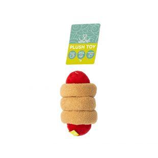 HIPPIE PET Mänguasi koertele, Hot dog, beež, beež, 15x6x4 cm