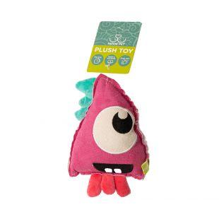 HIPPIE PET Игрушка для собак, Эльф, розовый, 18х12х4 см