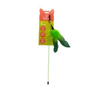 HIPPIE PET Игрушка для кошек зелёная, 25 см