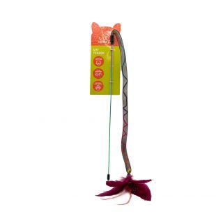 HIPPIE PET Игрушка для кошек красная, 42 см