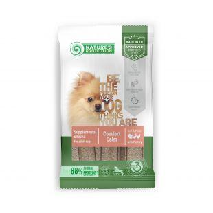 NATURE'S PROTECTION Poultry Comfort Calm täiendav toit-maiused kodulindudega täiskasvanud koertele 160 g