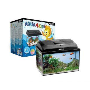 AQUAEL Аквариумный набор Aqua4 KIDS RECT. 20л, 40x25x25см