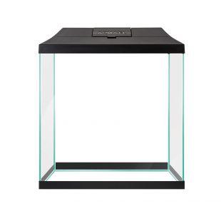 AQUAEL Аквариумный набор для начинающих LEDDY MINI черный, 29x15x30 см