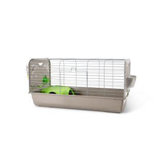 SAVIC Клетка для кроликов Цезарь серебряный цвет, 40 x 27,5 x 66,5 см