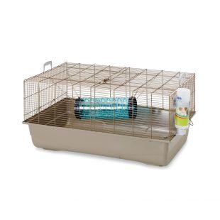 SAVIC Клетка для мелких грызунов серый, 80 x 50 x 38 см
