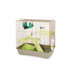 SAVIC Клетка для грызунов Freddy светло-серый, 80 x 50 x 80 см