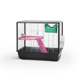 SAVIC Zeno 2 Knock Down клетка для грызунов серый, 80 x 50 x 70 см