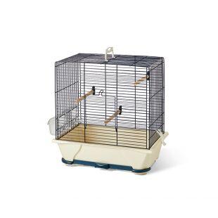 SAVIC Клетка для птиц Primo 30 темно-синий, 40 x 24 x 42 см
