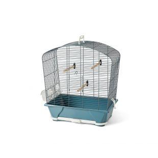 SAVIC Клетка для птиц Louise 30 синий, 45 x 25 x 48 см