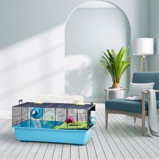 SAVIC Клетка для хомяков Sky Metro темно-синий, 80 x 50 x 50 см