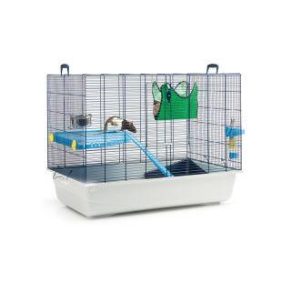 SAVIC Клетка для грызунов Freddy темно-синий, 80 x 50 x 63 см